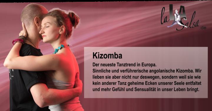 Natali & Manni von LaLASalsa.de tanzen Kizomba!