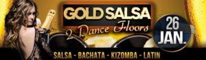 GOLD SALSA - Freitag 26. Januar - 2 Floors: Salsa & Kizomba @ Rheingoldhalle Mannheim   Mannheim   Germany